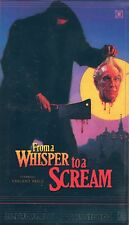 From A Whisper To A Scream VHS Terror Vision Vincent Price Cameron Mitchell LTD