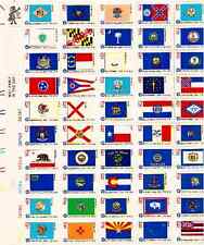Scott #1633/82...13 Cent...50 State Flags...Sheet of 50 Stamps