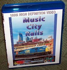"20173 BLU-RAY HD TRAIN VIDEO ""MUSIC CITY RAILS"" TENNESSEE"