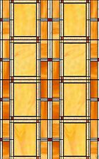 Sticky Back Plastic Stained Glass 2mtr x 45cm Fablon Window Self Adhesive 0437