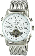Constantin Durmont Men's Watch Calendar CD-CALE-AT-STM-STST-WH