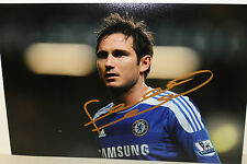 FRANK LAMPARD HAND SIGNED 8x12 PHOTOGRAPH UNFRAMED + PHOTO PROOF & C.O.A