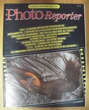 PHOTO REPORTER MAGAZINE N°40 FEV 82 GEORGES TOURDJMAN RETOUR DES PHOTOS DE NU