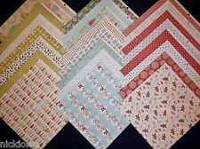 12X12 Scrapbook Paper Cardstock Christmas Winter Holiday Be Merry Snowman 24 Lot