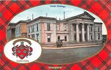 SCOTT~HAMILTON~COUNTY BUILDINGS~B & R'S CAMERA SERIES UK POSTCARD