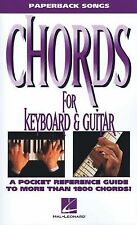 Chords for Keyboard and Guitar (The Paperback Songs Series) by Hal Leonard Corp
