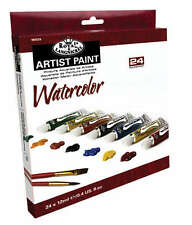 Royal Langnickel Watercolour 24 x 12ml Paint Tube Box Set. Assorted Colours