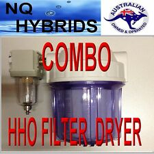 HHO  COMBO GAS FILTER AND DRYER     A 4WD MUST Latest edition 2016 updated model