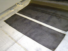THE BEST CARBON CLOTH FOR POLE REPAIR,  FINEST AVAILABLE AT 93 grms/sq.m