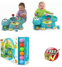 Fisher-Price Go Baby Go Poppity Pop Musical Dino Infant Activity Toy for Toddler