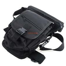 600D Tactical Drop Leg Bag Motorcycle Bicycling 2 Mag Pouches Thigh Waist Pack