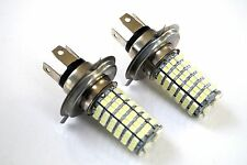 HONDA CIVIC 91-95 2X H4 120 SMD LED 12V HEADLIGHT LIGHT BEAM BULBS