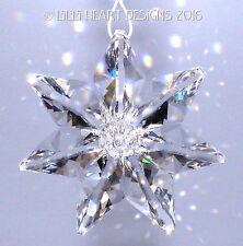 m/w Swarovski Crystal Clear Flower Car Charm or SunCatcher Lilli Heart Designs
