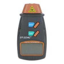 Laser digitale Tachimetro dà esatta RPM include Riflettente Nastro contrassegni