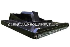 """72"""" ROTARY BRUSH CUTTER MOWER ATTACHMENT For Bobcat Skid Steer Loader 16-25GPM"""