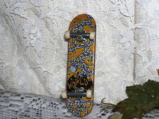 SKATE BOARD TECH DECK MINIATURE COLLECTIBLE LOCK & CHAINS