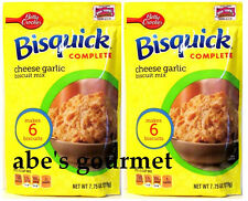 Bisquick® Complete Biscuit Mix: Cheese & Garlic (Pack of 2) 7.75 oz Bags