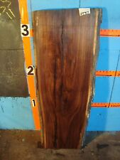 "# 8597,  1 15/16"" thick Black Walnut Live Edge Slab lumber craft wood"