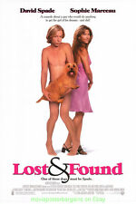 LOST AND FOUND MOVIE POSTER Original SS 27x40 DAVID SPADE SOPHIE MARCHEAU