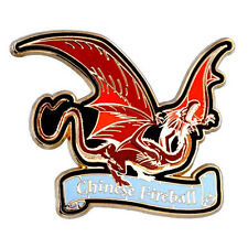 Universal Studios Harry Potter Chinese Fireball Dragon Pin New with Card