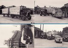 4 Lorry Bus Postcards - Ulster Pt 2: Scammell: Leyland - Billingham Motor Cards