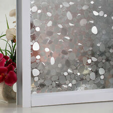Self-adhesive Cobblestone Frosted Window Film Transparent Sticker Glass Decal