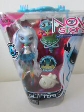 NEW IN BOX NRFB NOVI STARS UNA VERSE DOLL PET MOLECULE FILLED WITH GLITTER CUTE!