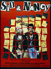Sid and Nancy Sex Pistols vintage movie poster print 2