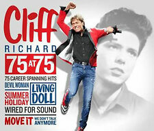 Cliff Richard - 75 at 75 - New 3CD Album - inc New Song Golden