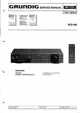 Service Manual for Grundig RCD 400