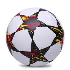 Dazzle Color Training Balls Football Official Size 5 High Quality PU Soccer Ball