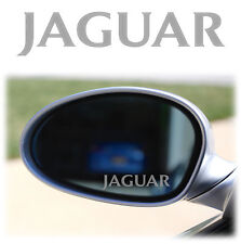 JAGUAR WING MIRROR - ETCHED GLASS CAR VINYL DECALS-STICKERS x4 XJR XJS