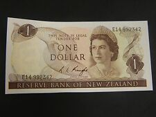 Reserve Bank of New Zealand One Dollar Note! Unc!