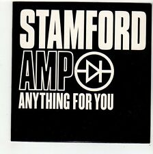 (FC507) Stamford Amp, Anything For You - 2002 DJ CD