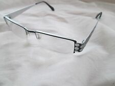 Eyefunc black / silver spot glasses frames. 234. With case.