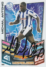 SHEFFIELD WEDNESDAY mano firmato l'onorevole Antonio 12/13 MATCH ATTAX CARD.