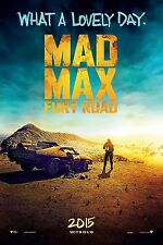 Mad Max Fury Road (2015) Movie Poster (24x36) - Tom Hardy, Charlize Theron NEW