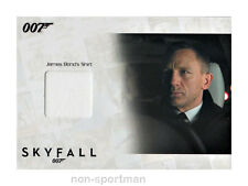 JAMES BOND 2013 AUTOGRAPHS & RELICS COSTUME SSC14 DANIEL CRAIG 77/200