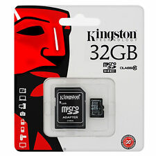 Kingston 32GB Micro SD Card SDHC TF MEMORY CARD CLASS 10 UHS 1 w/ADAPTER UK