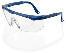 10 x B Brand PORTLAND Scratch Resistant Clear Safety Eye Protection Spec/Glasses