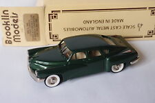 BROOKLIN BRK 2x 1948 TUCKER TORPEDO AUTOMOBILE CLUB OF AMERICA CONVENTION 1/43