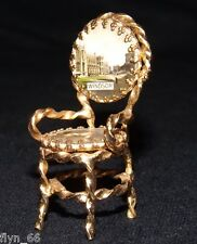 Vintage Small Windsor Castle Souvenir Chair C1960