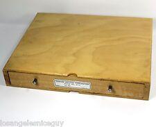 Vintage George Gorton Machine Co. Die Storage BOX Empty Part No K7864 Jewelry