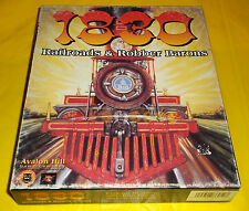 1830 RAILROADS & ROBBER BARONS Pc Versione Americana 1ª Ed Big Box ○○○○ COMPLETO