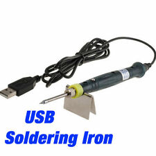 Portable USB DC Power Mini Soldering Welding Irons 5V 8W with Stand Tool Kit NEW