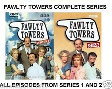 FAWLTY TOWERS COMPLETE SERIES 1 AND 2 DVD Set BBC Comedy All Episodes Brand New