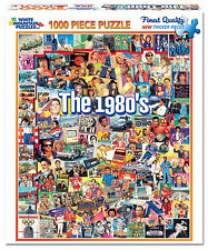 White Mountain Puzzles The Eighties 80s - 1000 Piece Jigsaw Puzzle