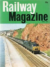 The Railway Magazine :April 1975 published by IPC Transport Press