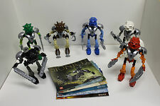 LEGO Bionicle TOA NUVA Set of 6: 8566 8567 8568 8570 8571 8572 - 100% COMPLETE