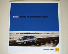 Renault . Megane . Hatch and Sport Tourer . January 2011 Sales Brochure